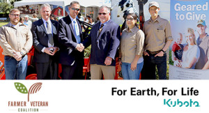 "Kubota Tractor Corporation Launches ""Geared to Give"" Program with Farmer Veteran Coalition"