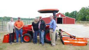 FVC Member, Marine Veteran Awarded New Kubota Tractor in 'Geared to Give' Program