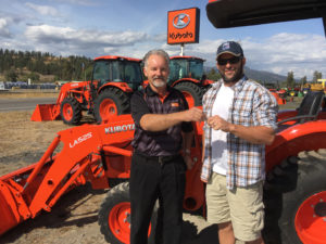 Five New Kubota Tractors Awarded to Farmer Veteran Coalition Members