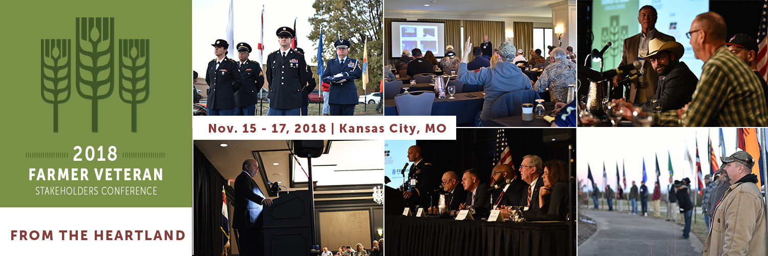 2018 Farmer Veteran Stakeholders Conference